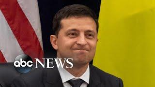 Trump, Ukraine president respond to impeachment inquiry, transcript release   Nightline