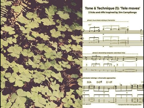 Tone & technique: 'Tele moves' triads, Jim Campilongo lines