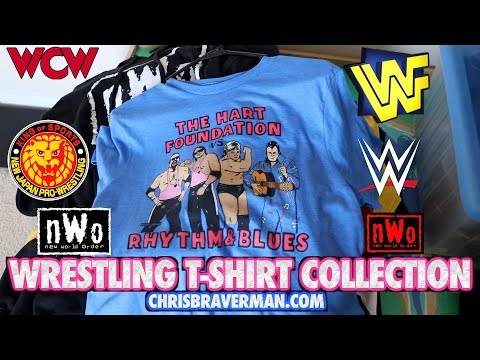 Wrestling T-Shirt Collection : WCW/nWo, WWF, WWE