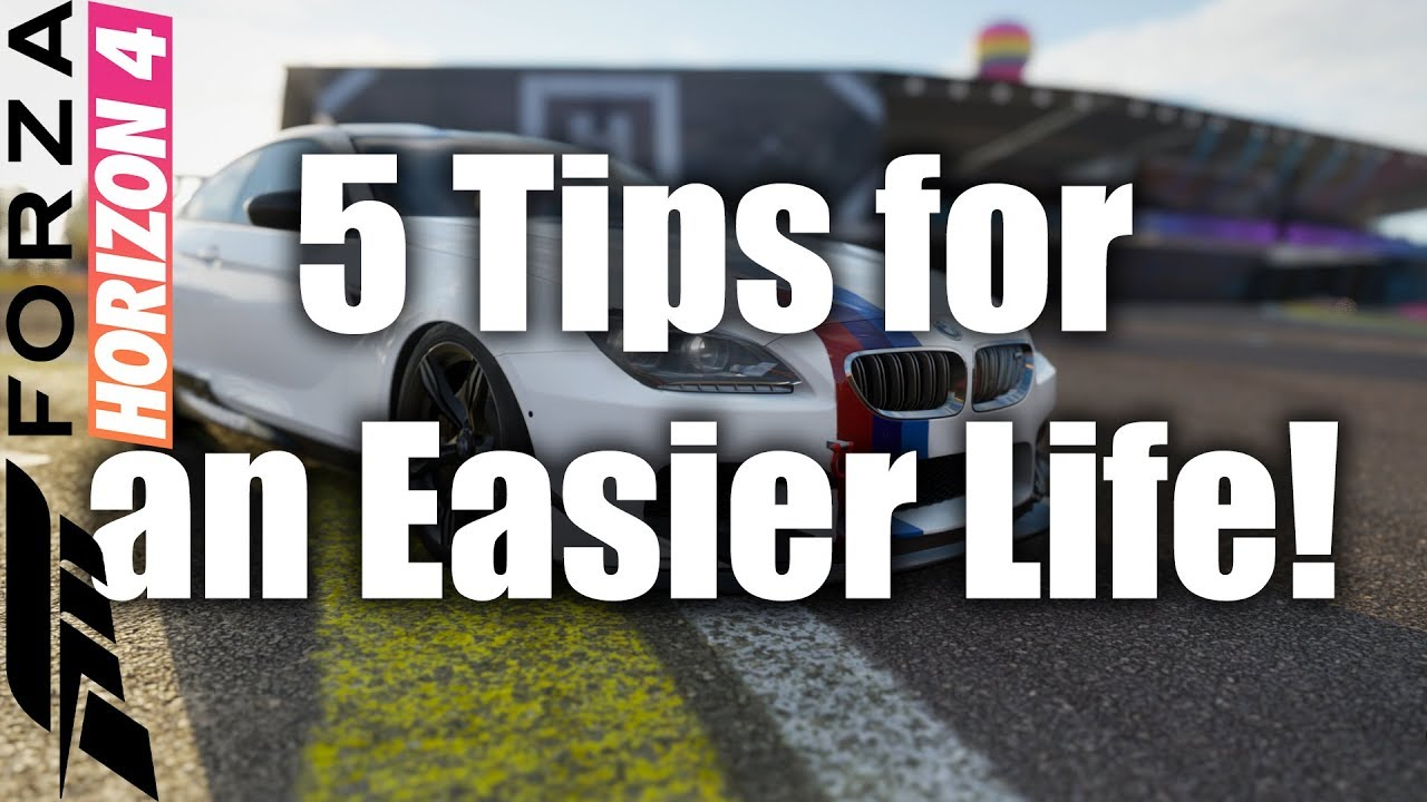 5 Tips and Tricks for a Better Life in Forza Horizon 4 PC & XBOX One thumbnail