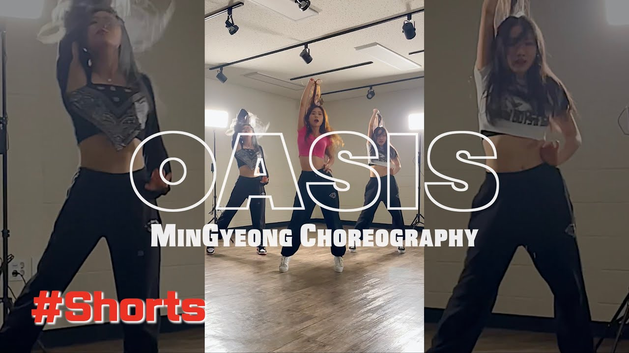 So...Sexy🔥MinGyeong Choreography   Crush 크러쉬 'Oasis (Feat. ZICO)' #Shorts