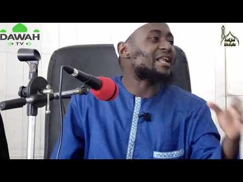 Conférence La faiblesse de la foi par Oustaz Oumar DIALLO