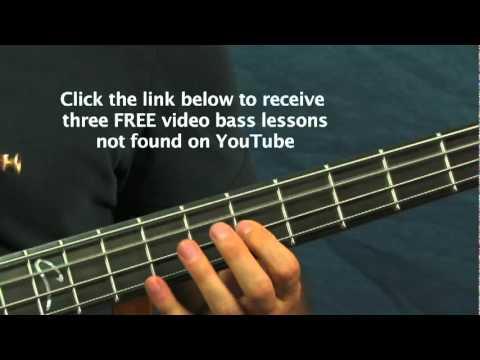 beginner bass lesson feel good inc gorillaz