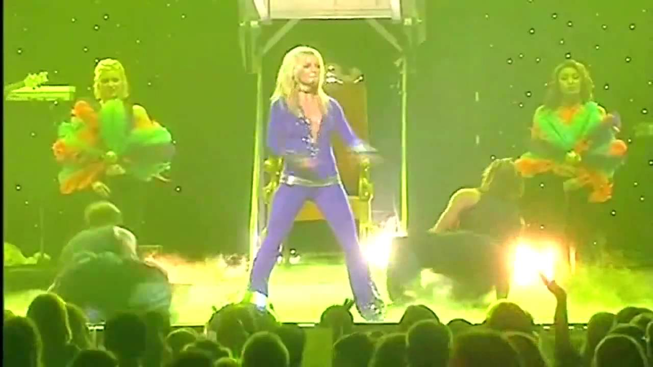 britney spears i cant get no satisfaction live from