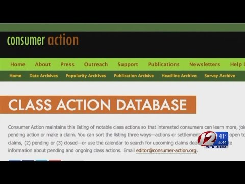 Advocacy Group Posting Class Action Suits Online