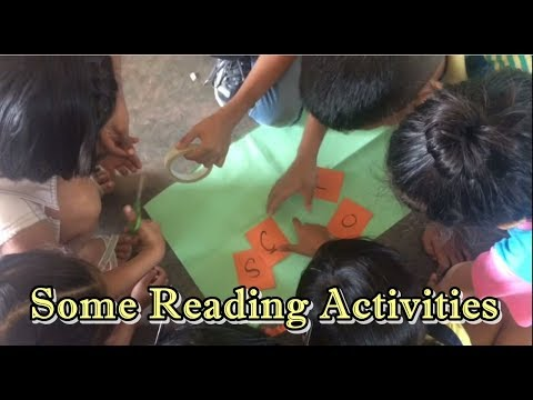 Ideas for Reading Activities