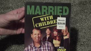 Married with Children: The Complete Series DVD Unboxing