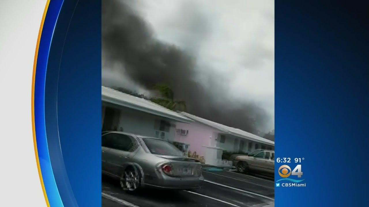 Apartment Complex Fire Displaces Several Families In North Miami