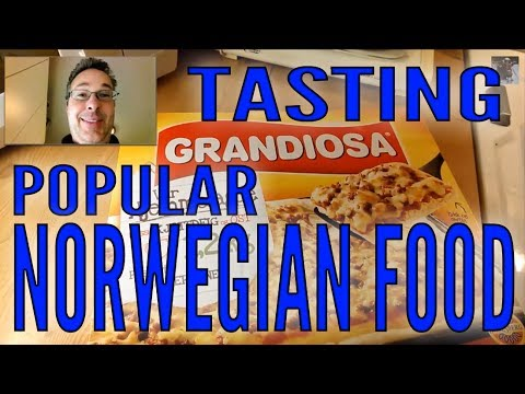 Eating Norway's Most Popular Pizza  | AmeriNorge