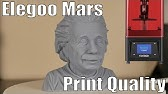 Monocure flex 100 on Elegoo Mars - YouTube