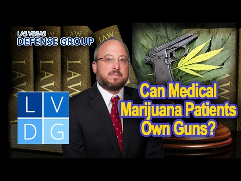 Can medical marijuana patients own guns in Nevada?