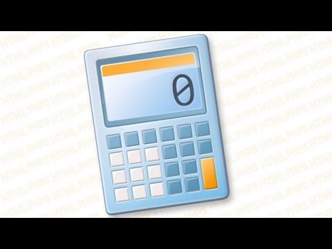 How to make a calculator in PHP 5 and HTML 4.01