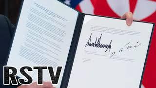 INCREÍBLE Documento de Paz Firmado por Trump y Kim Jong Un