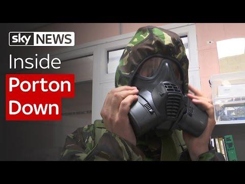 Inside Porton Down: Preparing For Gas Attacks