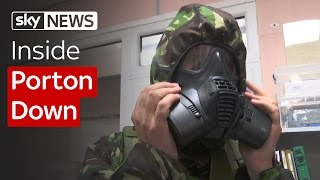 Inside Porton Down: Preparing For Gas Attacks