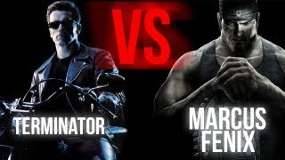 TERMINATOR VS MARCUS FENIX | BATTLE GAME MOVIE | Piter-G y Zarcort
