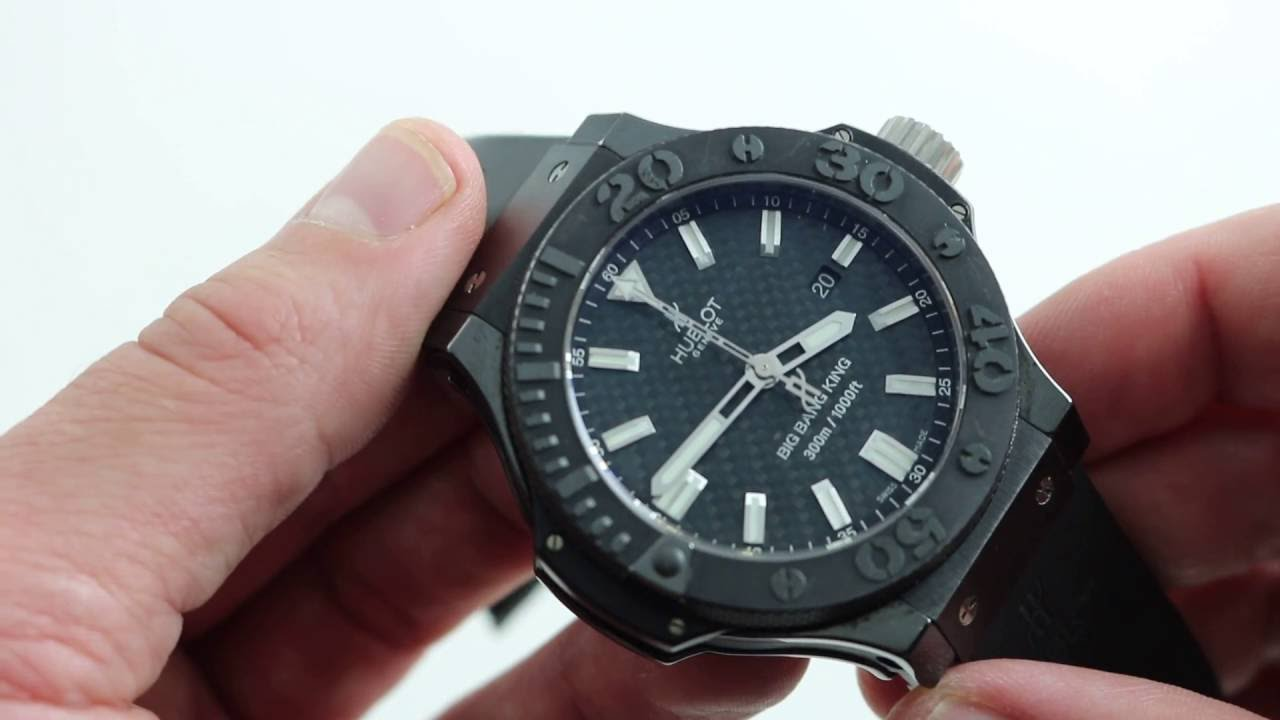 Hublot Big Bang King Black Magic Luxury Watch Review Youtube