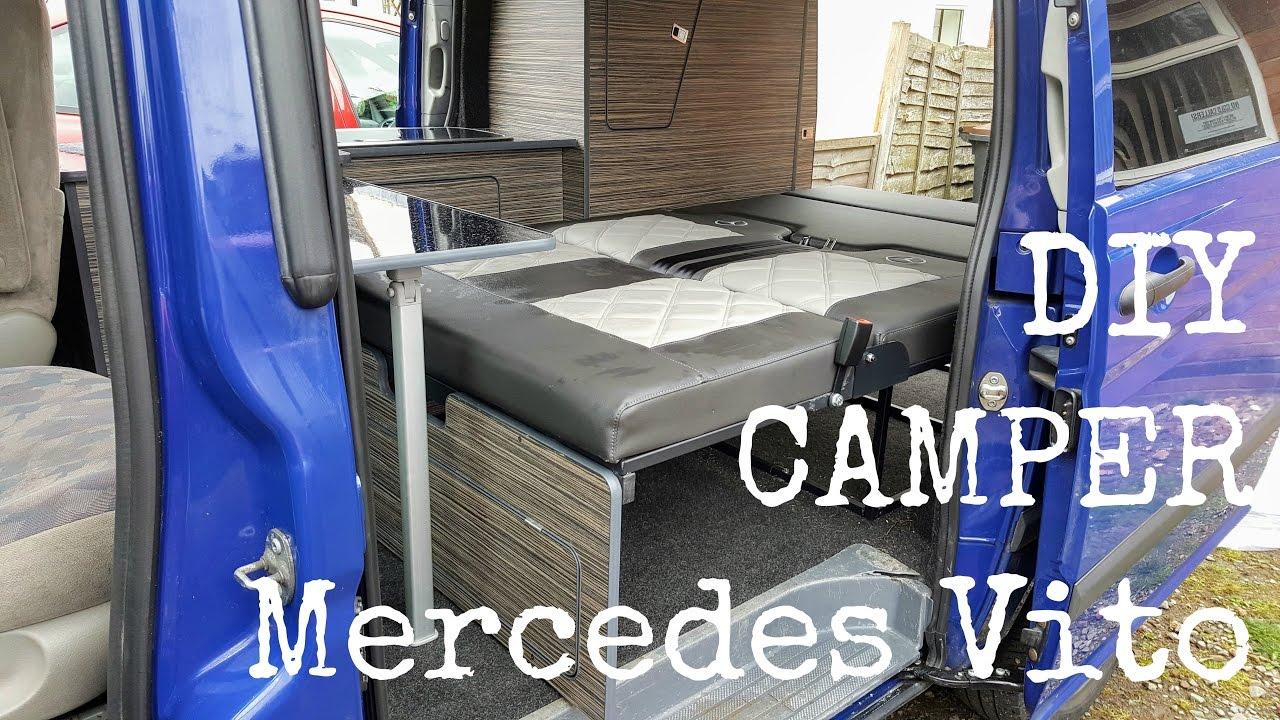 mercedes vito diy camper van conversion the carpenter 39 s. Black Bedroom Furniture Sets. Home Design Ideas