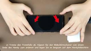 AsBellt-DE 3D Glas (Flüssigkeit) Schutzfolie Installationsvideo 11.1