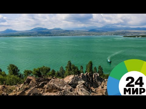 Зеленое озеро: экологи объяснили «цветение» Севана в Армении