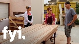 Unlivable: Making a Rustic Table (S1, E3) FYI