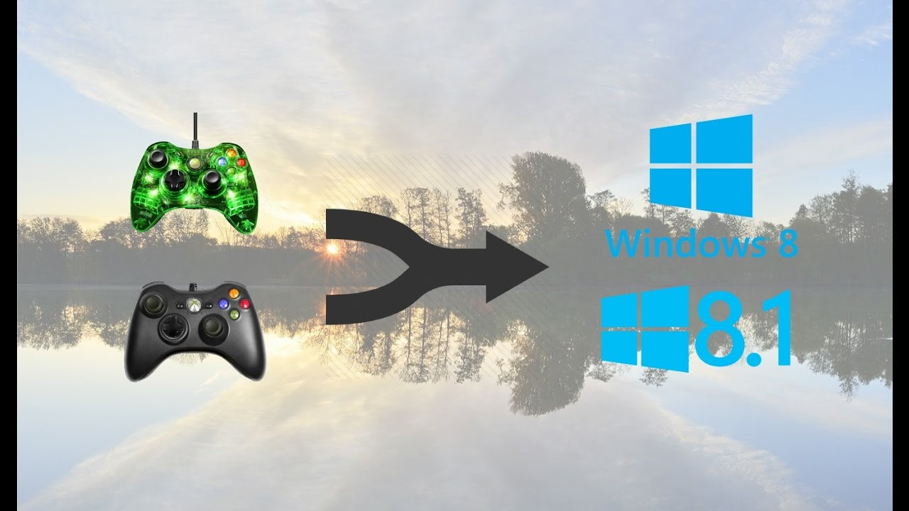 Map xbox controller to keyboard on windows 7, 8 or 8. 1.