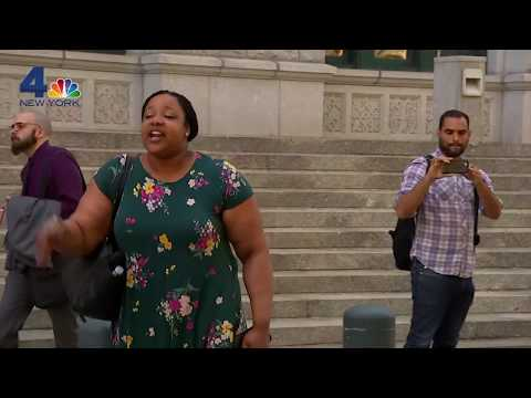 Eric Garner&39;s Daughter Exits Court Yelling &39;Fire Pantaleo&39; After DOJ Decides No Charges for Cop