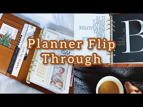 MY 2020 PLANNER FLIP THROUGH!   WRITING AND SOCIAL MEDIA PLANNER
