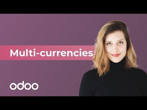 Multi-currencies | Odoo Accounting