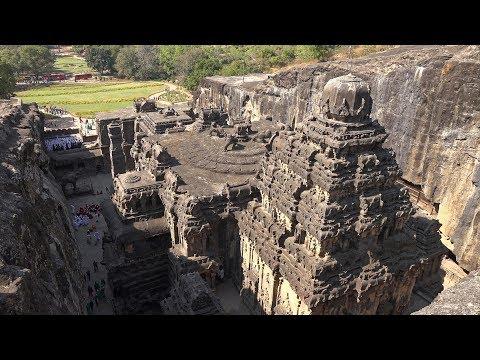 Ellora Caves, Maharashtra, India In 4K Ultra HD