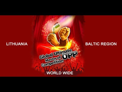Global Competition Master of OPP Lithuania 2014-04-16 Paulius Bieliauskas