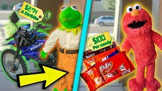kermit-and-elmo-the-door-salesmen-dirtbikes-halloween-candy