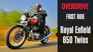 Royal Enfield Interceptor 650 & Continental GT 650 | First Ride | OVERDRIVE