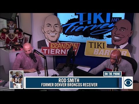 Rod Smith joined Tiki and Tierney