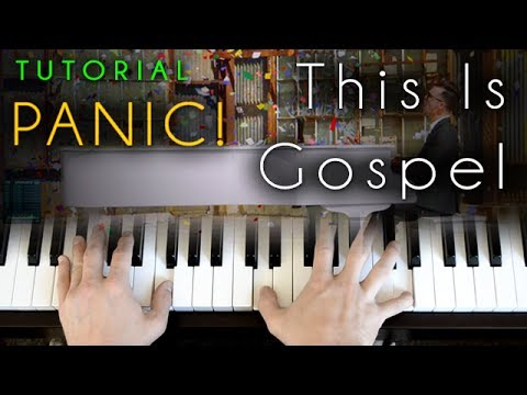 Panic! At The Disco - This Is Gospel (piano tutorial & cover ...
