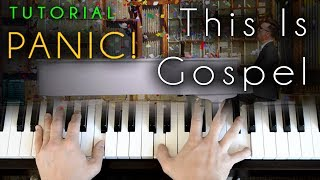 Panic! At The Disco - This Is Gospel (piano tutorial & cover) Acoustic Version