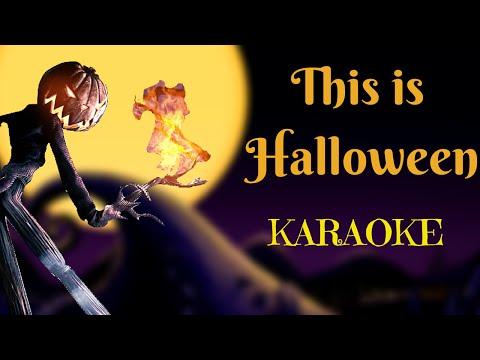 This Is Halloween - The Nightmare Before Christmas (Multilanguage Karaoke)