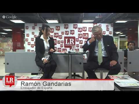 Ramón Gandarias / Embajador de España