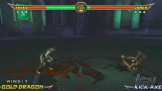 Mortal Kombat: Armageddon PlayStation 2 Review - Video