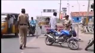 Whatsapp Funny Videos Amazing Police Man   Very Funny
