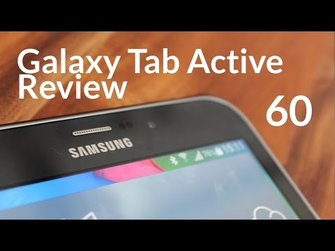 Samsung Galaxy Tab Active 60 Second Review