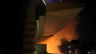 Escaping the Dubai hotel fire
