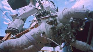 "Space Walk #3 ""STS - 125 Mission"" HUBBLE 3D - Leo DiCaprio narrates"