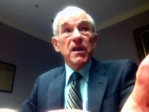 Ron Paul interviews with college students (Keynesian vs. Austrian Economics).flv