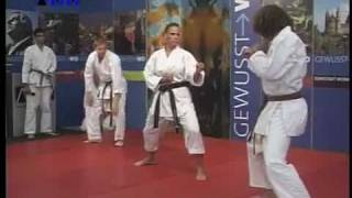 Karate Dojo Ryushinkan, TV-Auftritt part 2