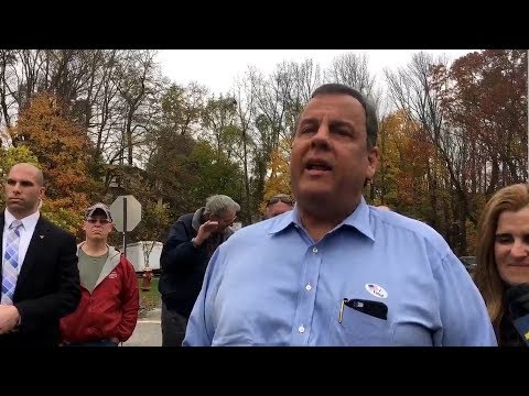 Chris Christie Argues With New Jersey Voter