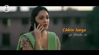 Chhin lunga ya khuda se mang launga #kabir Singh full HD