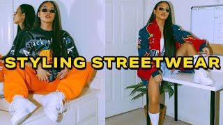 How I Style Vinтage Streetwear Lookbook | Mscrisssy