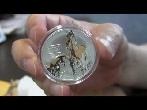 2014 Tokelau Lunar Horse coin from Modern Coin Mart
