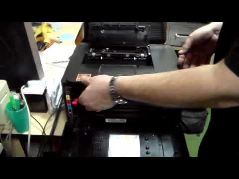 Как работает лазерный  цветной принтер Samsung CLP315